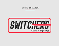 SWITCHERS Custom Lighting - Diseño de Marca