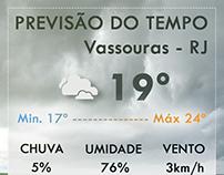 Previsão do Tempo - Portal da Cidade Vassouras