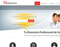 www.medictorio.com - Directorio web - Wordpress