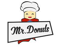 Imagotipo, publicaciones en redes para empresa de Donut