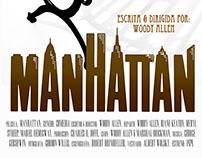 """Afiche Manhattan """"Woody Allen"""""""