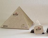 Packaging Té Homeopático