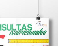 Flyer Consultas Nutricionales