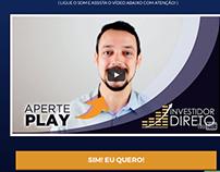 Página de Vendas do investidordireto.com.br