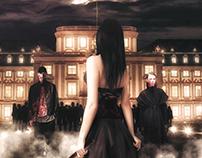 Vampire hunter - Book Cover-