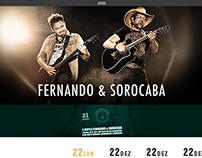 Fernando e Sorocaba - Web Site