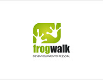 Frogwalk - logo design