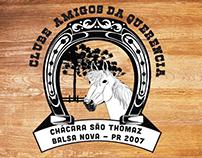 Logo Chácara São Thomas clube amigos da Querencia