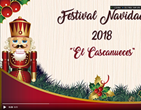 """Logo Animado Evento Escolar """"EL CASCANUECES"""""""