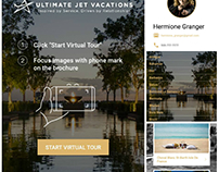 Ultimate Jet Vacations (Augmented Reality Android App)
