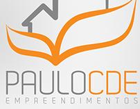 Paulo CDE empreendimentos | Logotipo