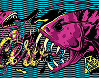 Ilustraciones Skateboard invierno 2015