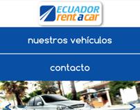 Mobile Website for Ecuadrian Rent a Car