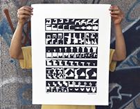 Apuntes sobre Moloch   Silkscreen Print