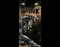 Black Panther Skateboard.