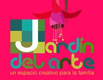 Jardín de arte. Imagen y diseño