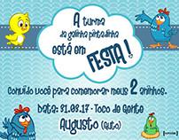 Design de convites infantis