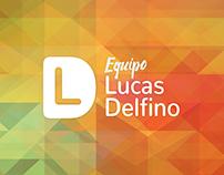 Branding / Identidad Corporativa - Equipo Lucas Delfino
