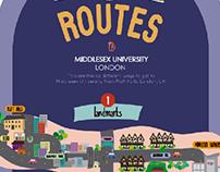 6 Routes