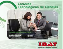 CLIENTE/IDAT /Tríptico informativo