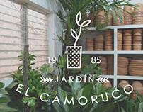 Plant Nursery Branding: Jardín El Camoruco