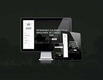Sitio Web Huellas y Sabores / Huellas y Sabores Website