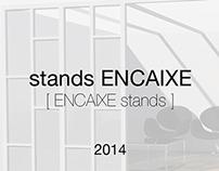 Modelagem de Stands em 3d para ENCAIXE | 2014