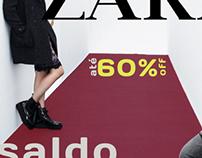 Campanha Zara Sale - Mídias Básicas