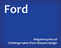 Ad idea - Ford