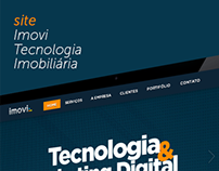 Site Imovi Tecnologia Imobiliária