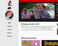 Restyling Hey Girl Records Website
