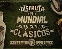 Mundial de Fútbol 2014. Anís Cartujo.