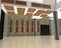 Architectural project / Acoustic panels