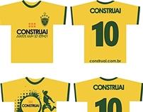 Camisetas promocionais Copa do Mundo 2014