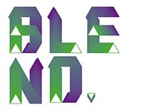Blend Typeface