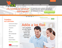 Pagafacil.gob.mx Website Design