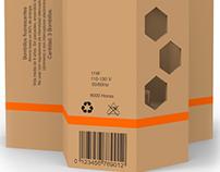 Osram Light Bulb Packaging.