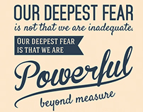 Coach Carter quote poster