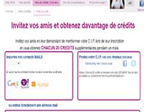 """Monavislerengratuit.com – Campaña """"Invitez vos amis"""""""