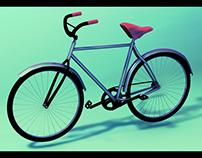 Old Bike 3d!