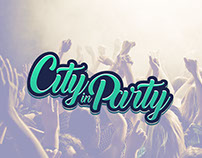 City in Party - Logo