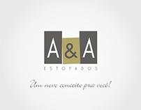 LOGOTIPO - A&A ESTOFADOS