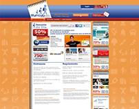 Layouts para sites e e-mail mkt
