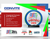 Convite Premio SET 2013