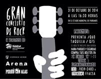 HFHG: Gran concierto de rock