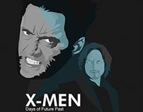 X-Men Days of Future Past Illustration