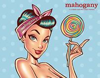 Mahogany Candy Colors Pinup