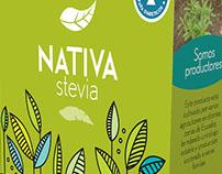 Nativa Stevia - Marca y Empaque