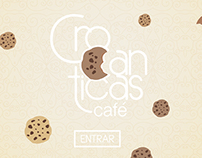 Web Design ~ Crocanticas Cafe ~ Graphic design