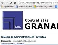 Intranet para Contratistas Granada SAC